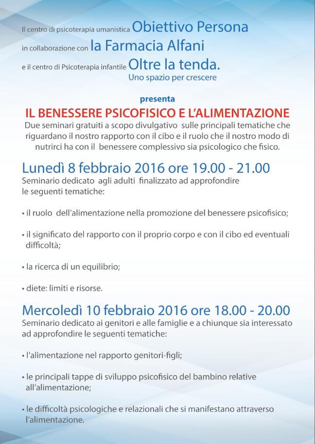 08 e 10 febbraio seminari gratuiti